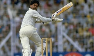 Years Ago Today:  Last day of test cricket for legendary wicket taker Kapil Dev