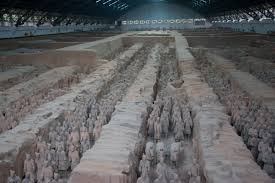 Years Ago Today:  Farmers discover clay warriors near the tomb of the First Emperor of China