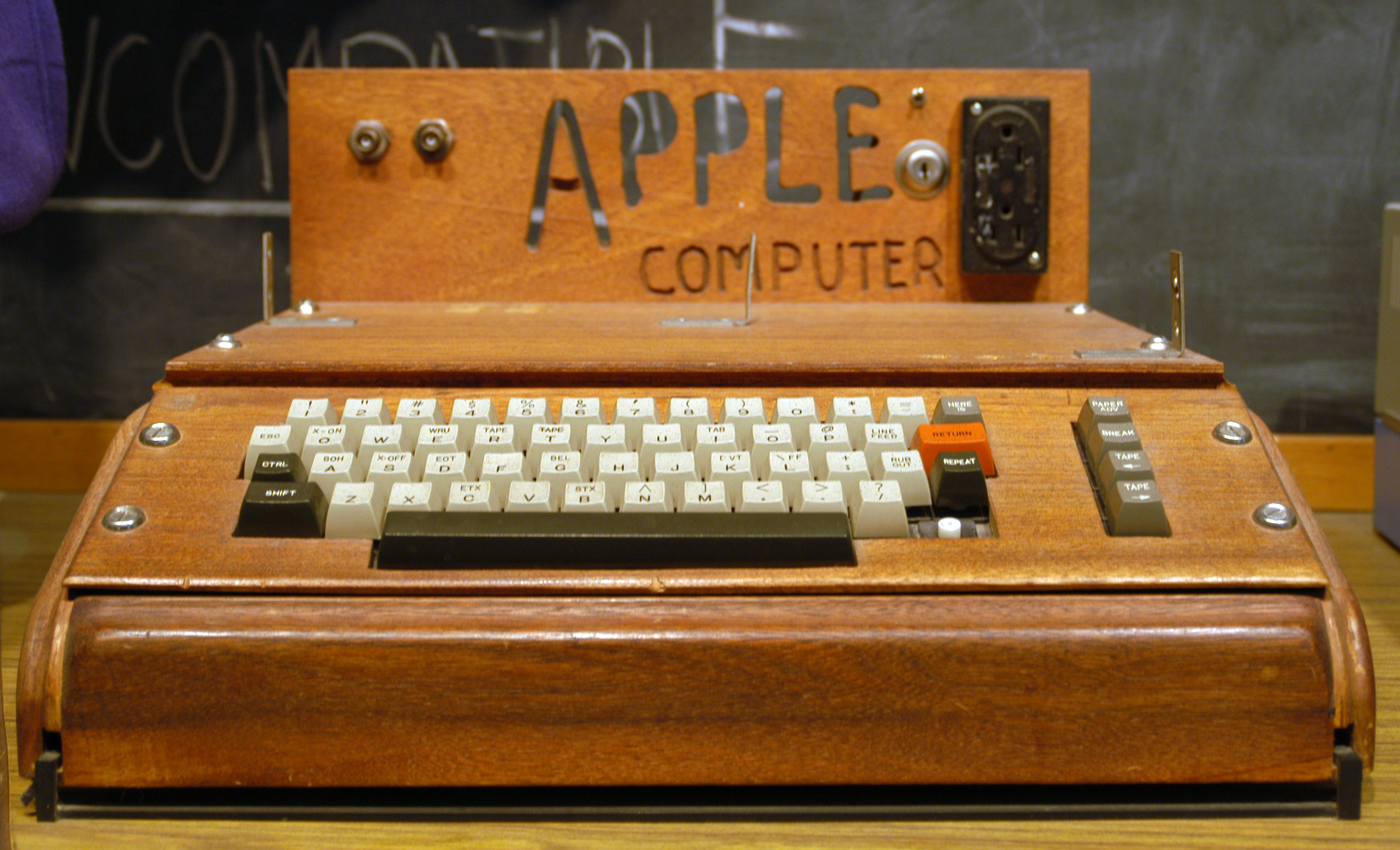 Years Ago Today: Apple I computer created by Steve Wozniak released
