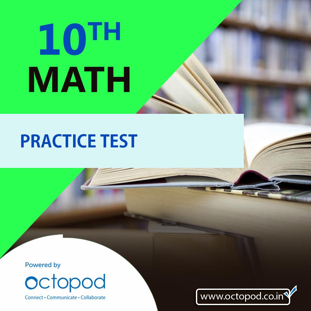 10th Math Practice Test (29th-2-2020)