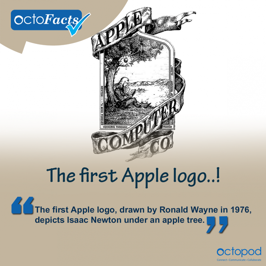 The first Apple logo isn't what you would think...!