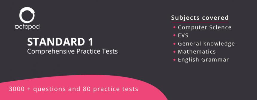 Standard 1 Comprehensive Tests