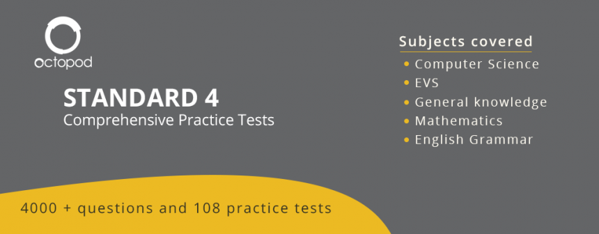Standard 4 Comprehensive Tests