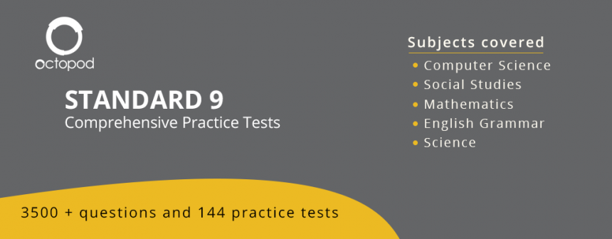 Standard 9 Comprehensive Tests