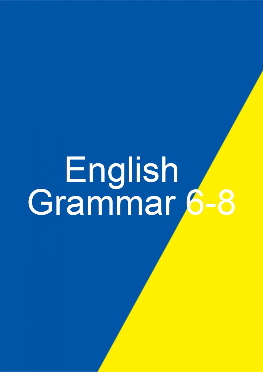 Demo Grammar 6-8