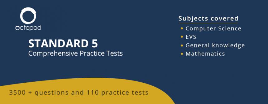 Standard 5 Comprehensive Tests