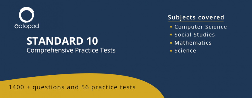 Standard 10 Comprehensive Tests