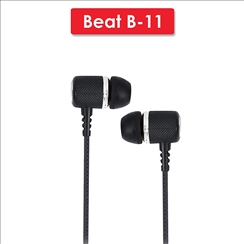AKAI Beat B-11 wired Earphone with Mic and Volume Control
