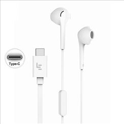 Type C wired Earphone with Mic