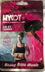 Hycot+ SM-57 Heavy Bass Music Champ Wired Earphones