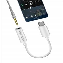 Portronics iKonnect Type C Earphone connector