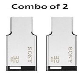 Combo Offer Sony 32 GB Me...