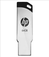 HP 64GB Pen Drive Black -...