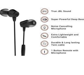 Jbl T50Hi IN-Ear Headphon...