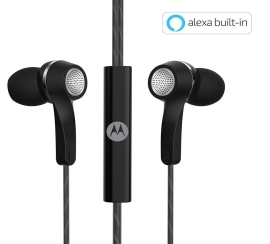 Motorola Pace 120 In-Ear Headphones With Mic And Volume Control