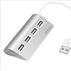 Portronics USB 2.0 Alumin...