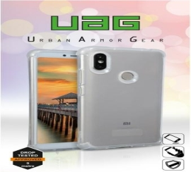 Vivo V15 Prime Uandi 6D Protection Transparent Back Case Cover