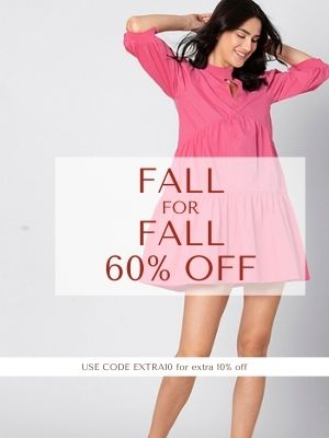 Fall for Fall Sale- Get Upto 60% OFF