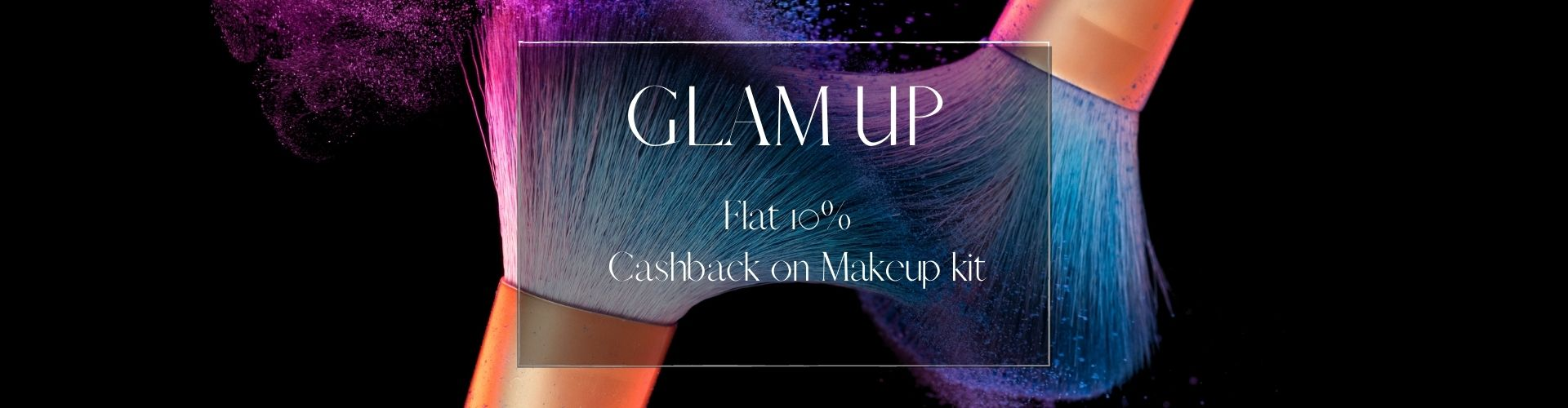 Flat 10% cashback from flopoffer on makeup kits