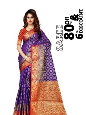 Flipkart is offering 80% discount on paithani saree also earn cashback upto 6% from flopoffer