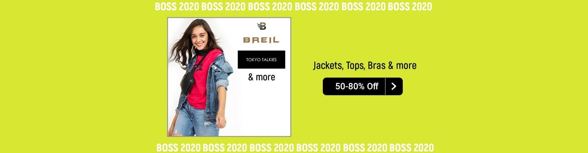 Get tops dresses at minimum 50% discount on casual dresses for women at flipkart BOSS sale