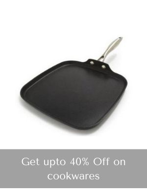 Get upto 40% Off on cookwares