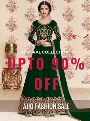 Get upto 90% off on women clothings and extra 3% Cashback