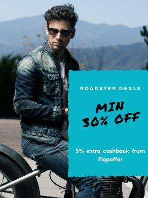 Minimum 30% Off on roadster