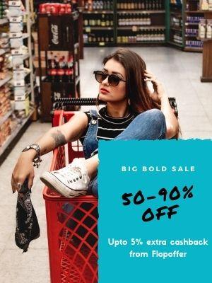 Minimum 50% off on ajio women fashion