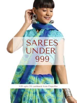 Sarees under 999
