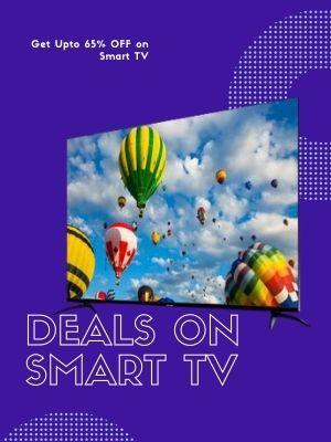 Upto 60% off on Smart TV