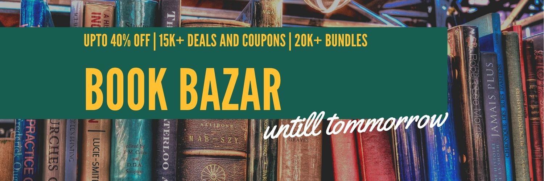 upto 40 percent off in amazon Book bazar