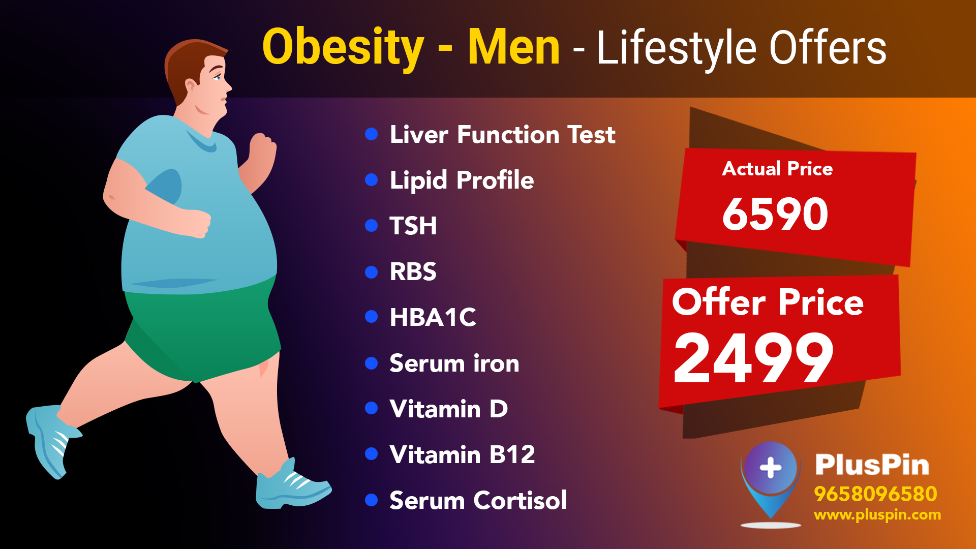 Obesity-Men Wellness Health Package