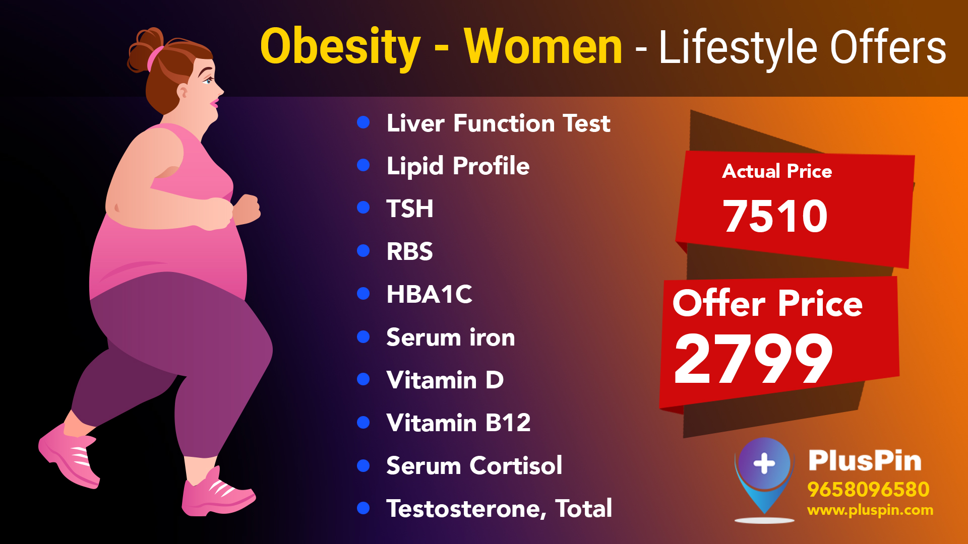 Obesity-Women Wellness Health Package