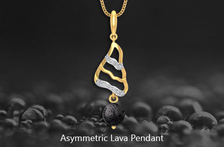 Png jewellers brings the lava collection the asymmetric lava pendant design adds to your feminine appeal with wavy design and diamonds embedded on the asymmetric lava pendant aloadofball Gallery