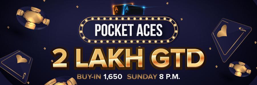 Pocket Aces 200K GTD