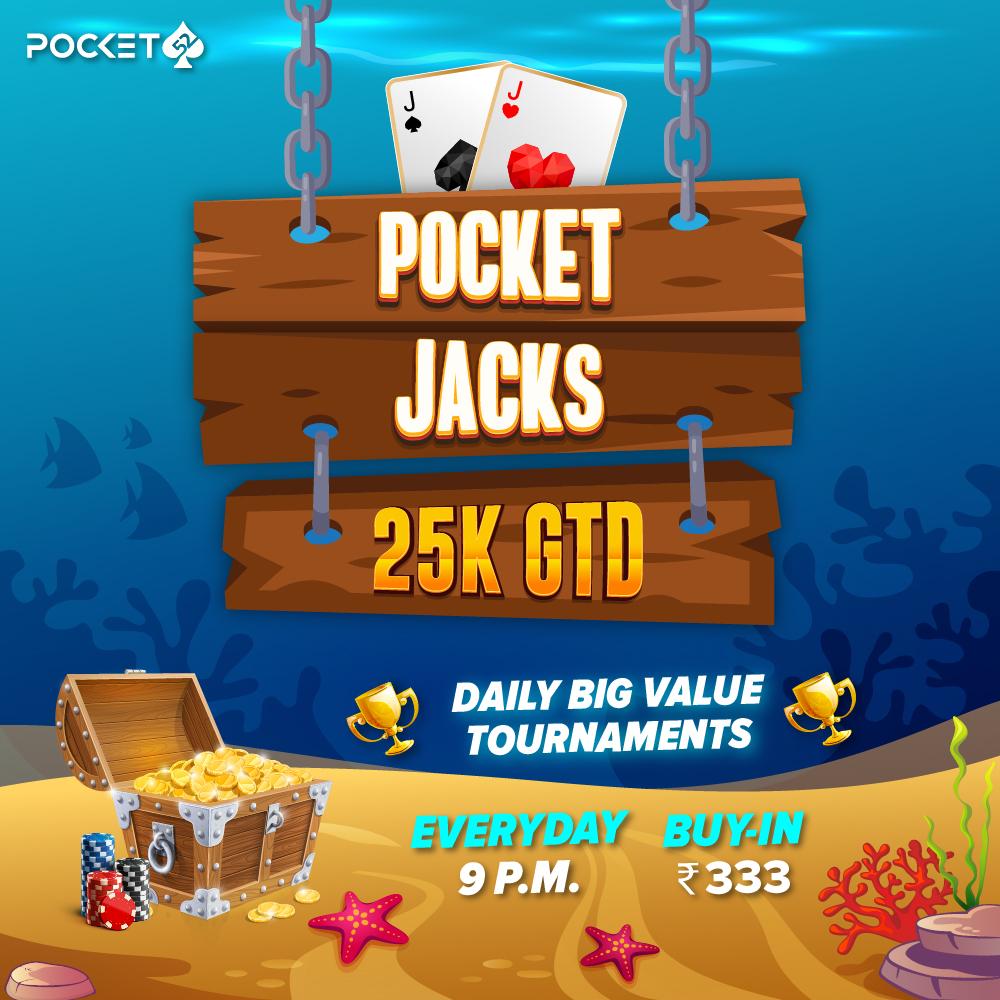 Pocket Jacks 25K GTD