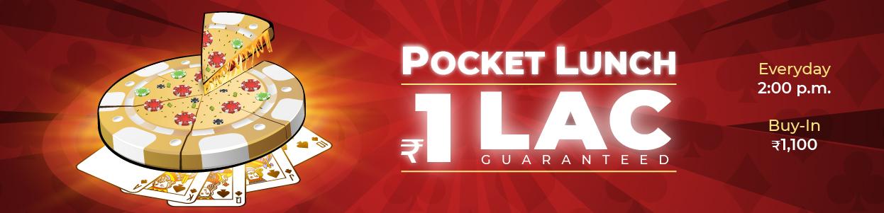 Pocket Lunch 100K GTD Tourney banner