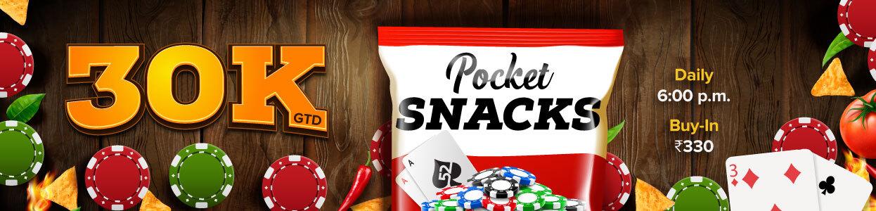 Pocket Snacks Tourney banner