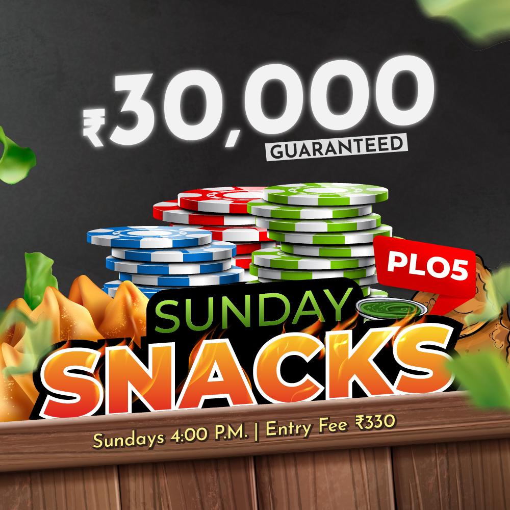 Sunday Snacks PLO5
