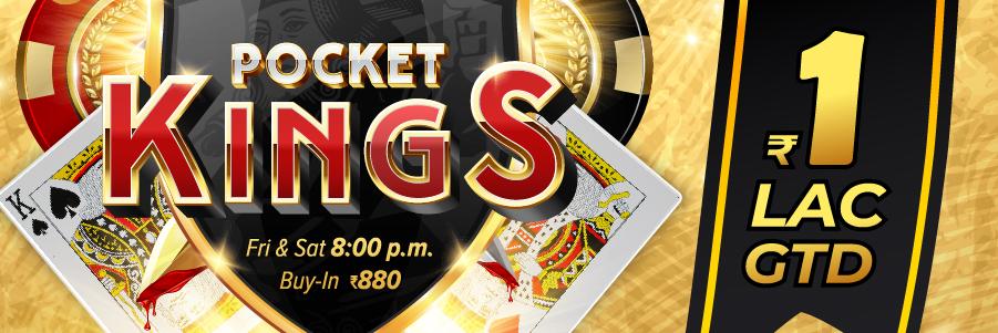 Pocket Kings 100K GTD Tournament