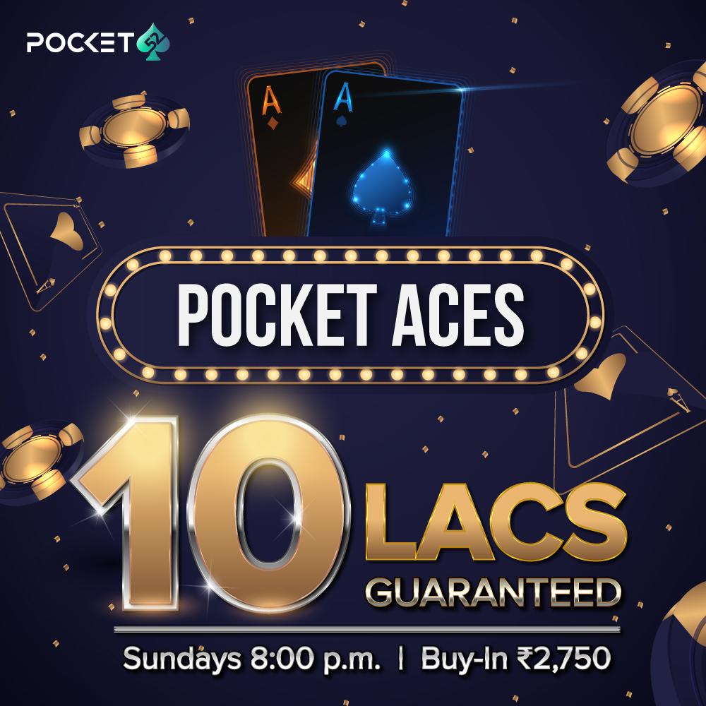 Pocket Aces 10 Lac