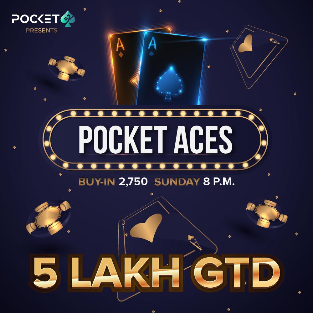 Pocket Aces 5 Lac