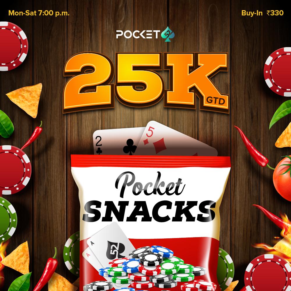Pocket Snacks 25K