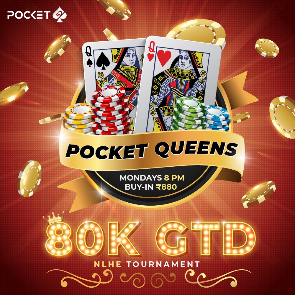 Pocket Queens 80K