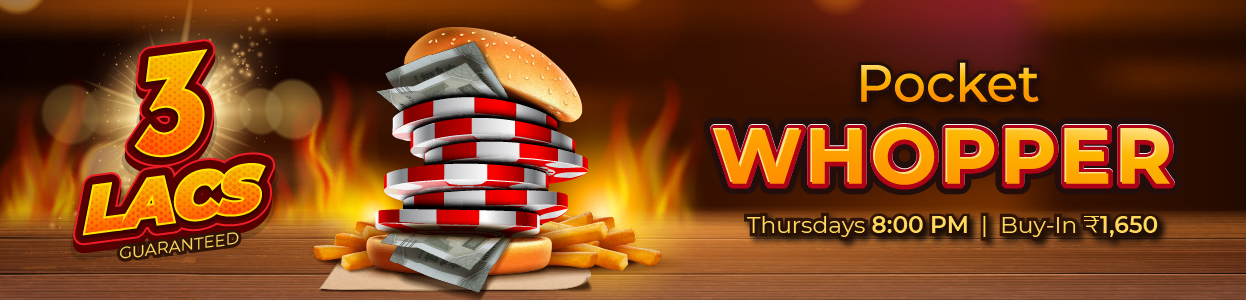 Pocket Whopper Tourney banner