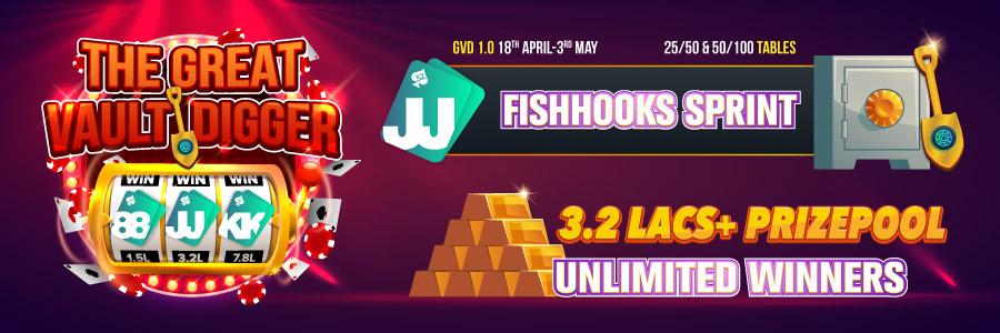 Play Poker Online at Fishhooks