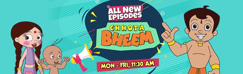 CHHOTA BHEEM - NEW EPISODES