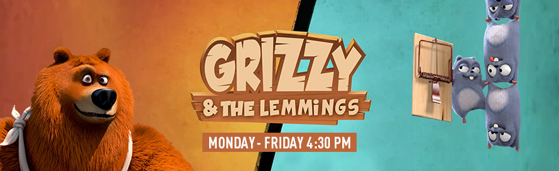 GRIZZY AND THE LEMMINGS new banner