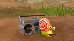 Wallpaper - Boombox Snail